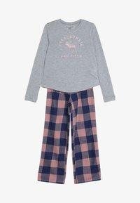 Abercrombie & Fitch - CORE SLEEP - Pyžamová sada - grey/pink - 5