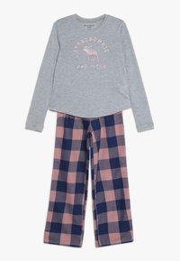Abercrombie & Fitch - CORE SLEEP - Pyžamová sada - grey/pink - 0