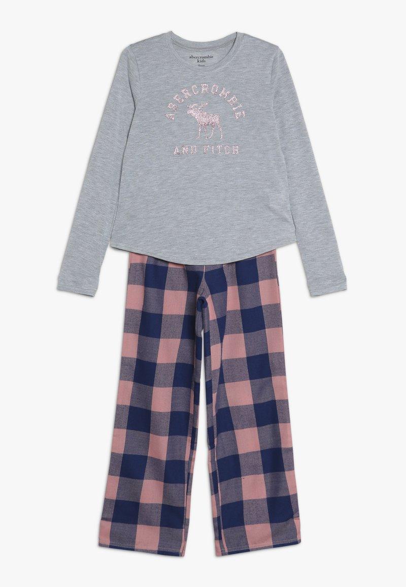 Abercrombie & Fitch - CORE SLEEP - Pyžamová sada - grey/pink