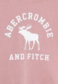Abercrombie & Fitch - CORE SLEEP  - Pyžamová sada - blush pink/grey - 5