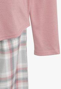 Abercrombie & Fitch - CORE SLEEP  - Pyžamová sada - blush pink/grey - 3