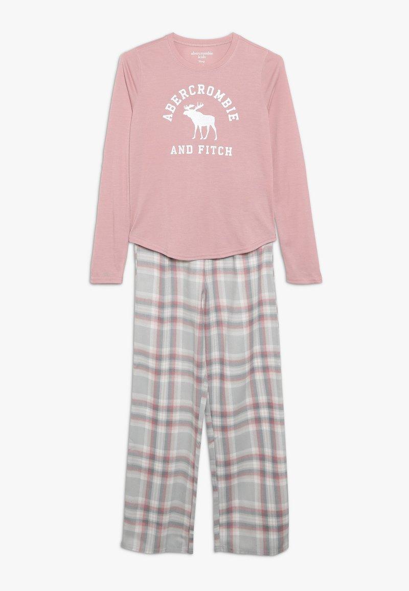 Abercrombie & Fitch - CORE SLEEP  - Pyžamová sada - blush pink/grey