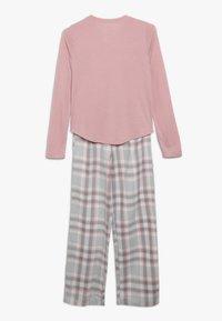 Abercrombie & Fitch - CORE SLEEP  - Pyžamová sada - blush pink/grey - 1