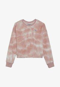 Abercrombie & Fitch - COZY SLEEP CREW  - Camiseta de pijama - pink - 2