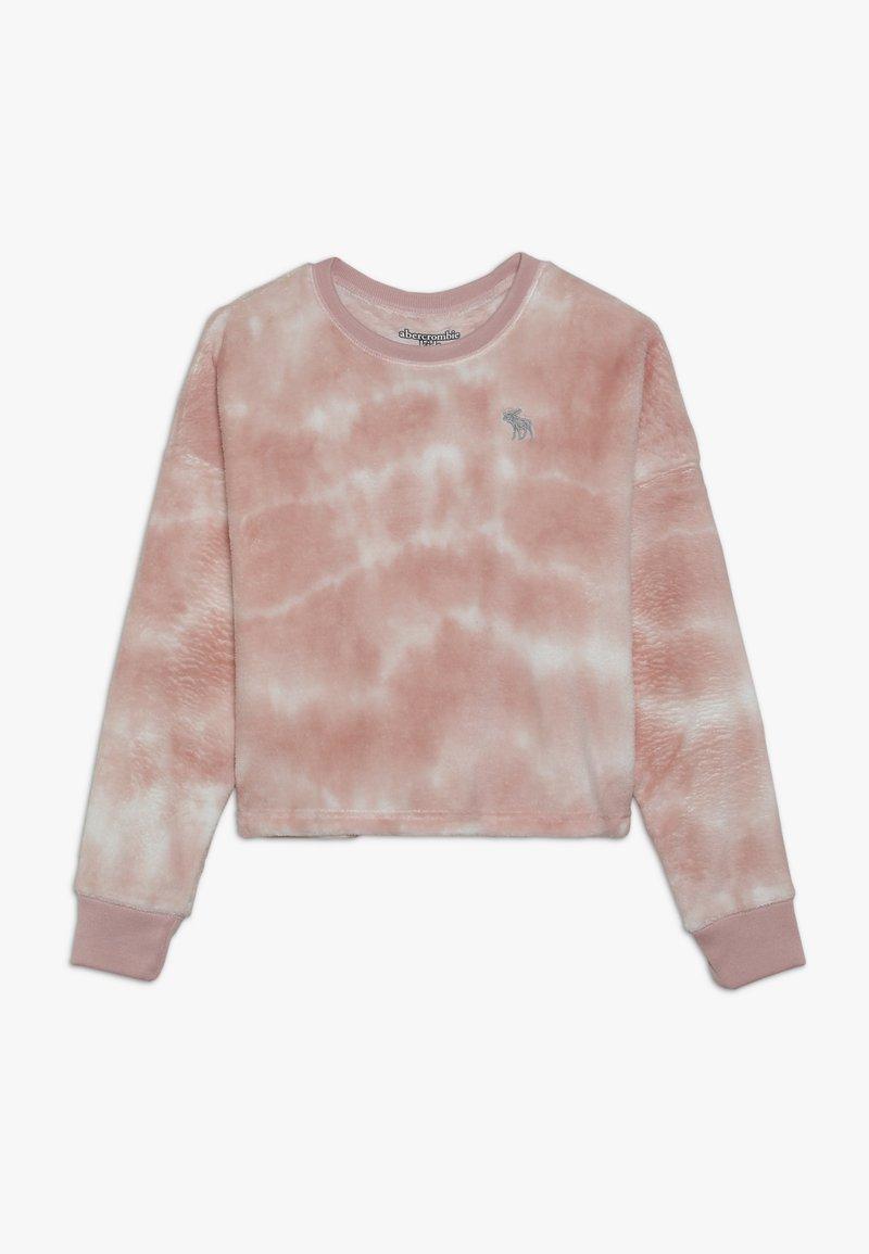 Abercrombie & Fitch - COZY SLEEP CREW  - Camiseta de pijama - pink