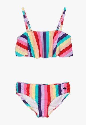 TIE BACK SET - Bikiny - multi-coloured