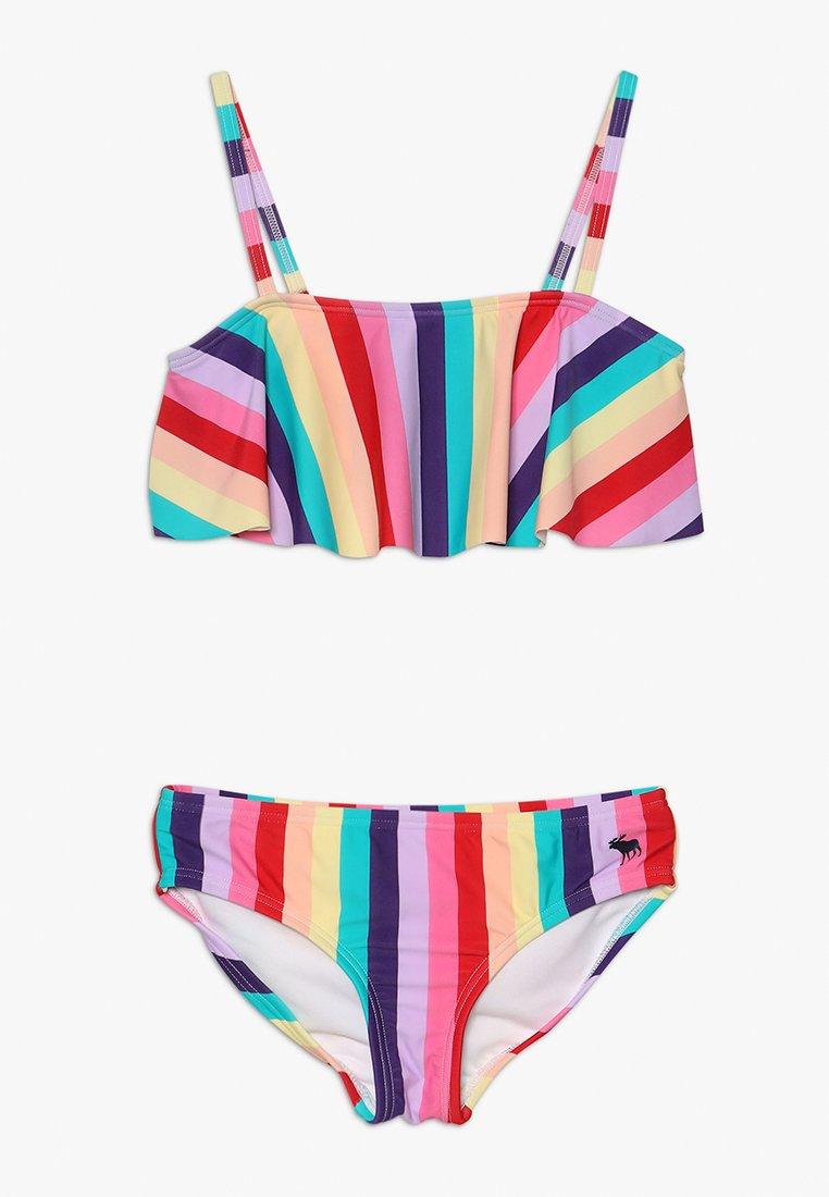 Abercrombie & Fitch - TIE BACK SET - Bikini - multi-coloured
