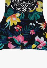 Abercrombie & Fitch - HI NECK TIE FRONT SET - Bikini - navy ground - 4