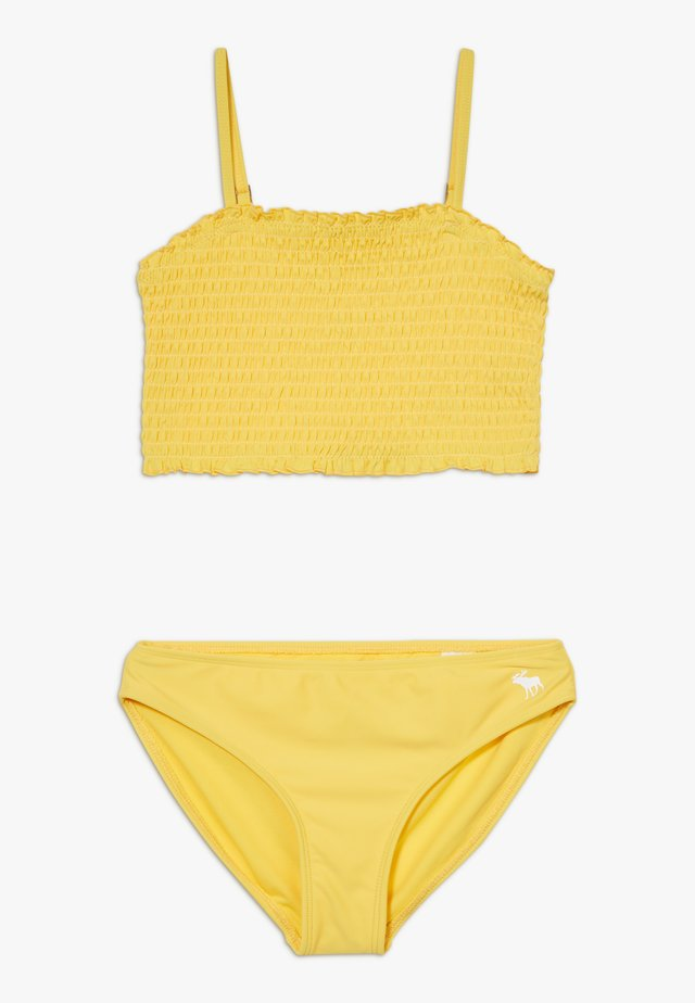 SMOCKED SET - Bikini - yellow