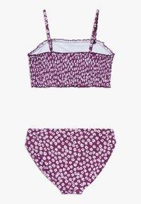 Abercrombie & Fitch - SMOCKED SET - Bikini - purple ditsy - 1