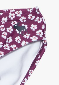 Abercrombie & Fitch - SMOCKED SET - Bikini - purple ditsy - 4