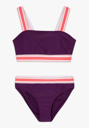 ELASTIC TIPPED - Bikini - purple