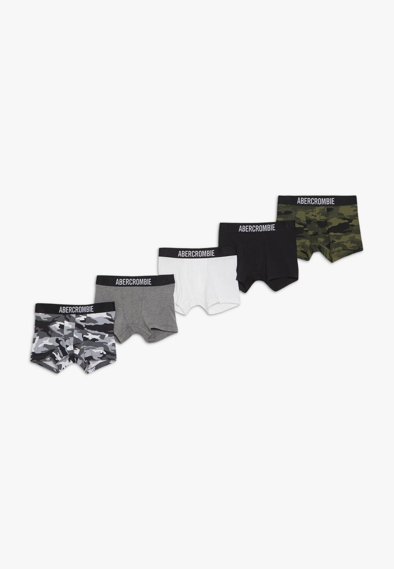 Abercrombie & Fitch - UNDERWEAR NEUTRALS 5 PACK - Panties - khaki