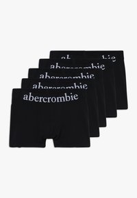 Abercrombie & Fitch - UNDERWEAR BASIC SOLIDS 5 PACK - Culotte - black - 0