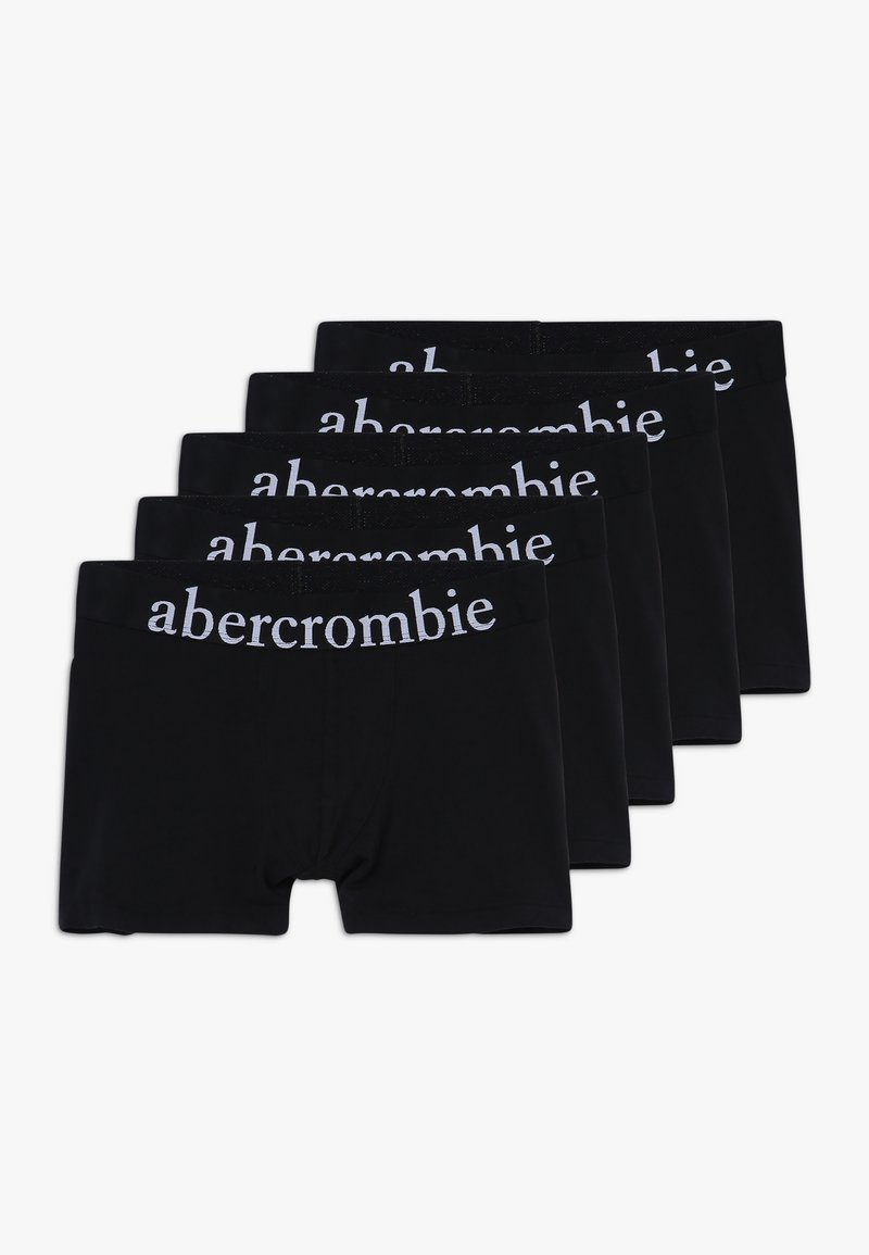 Abercrombie & Fitch - UNDERWEAR BASIC SOLIDS 5 PACK - Panties - black