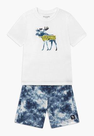 SLEEP - Pijama - white/blue
