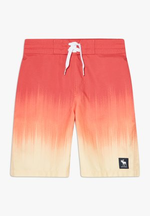 BOARD OMBRE  - Badeshorts - red/yellow