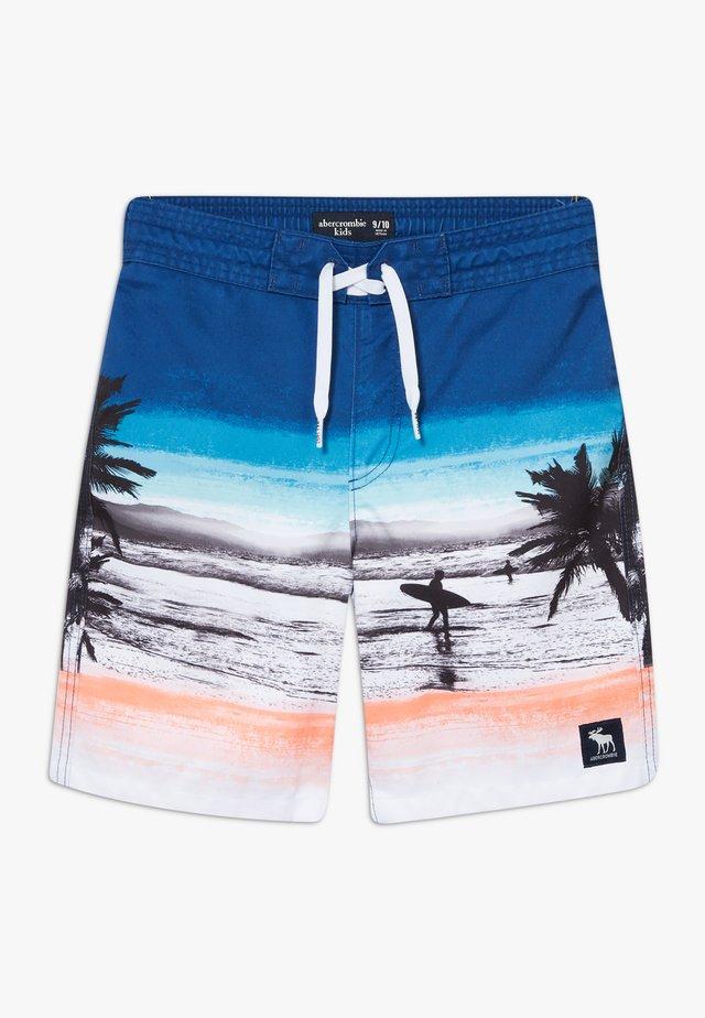 BOARD BEACH PHOTOREAL - Badeshorts - multicolor