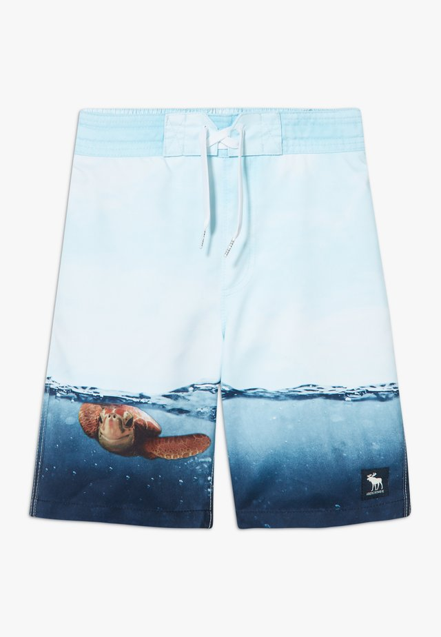 BOARD TURTLE PHOTOREAL - Badeshorts - multicolor