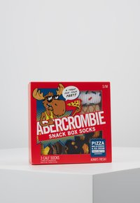 Abercrombie & Fitch - FOOD BOX 3 PACK - Ponožky - multicoloured - 3