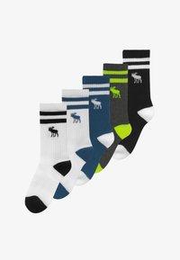 Abercrombie & Fitch - SEASONAL 5 PACK - Ponožky - multi-coloured - 2