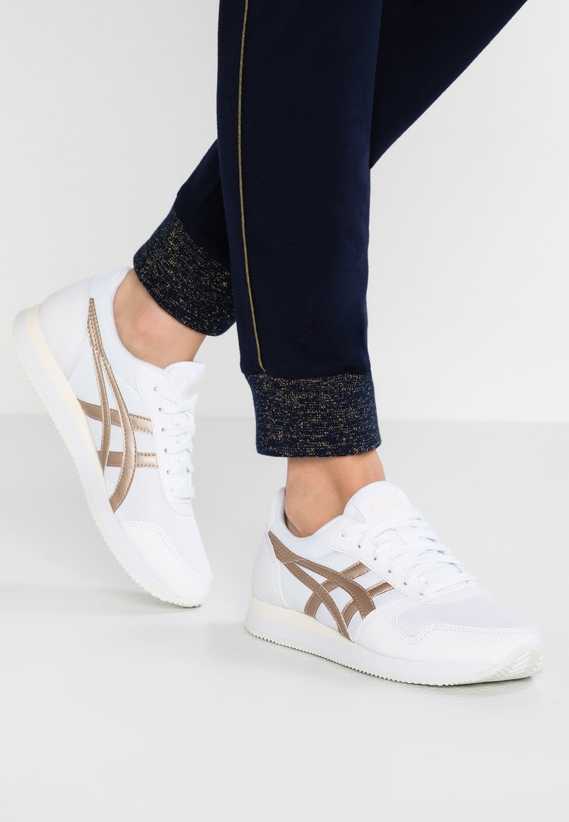 ASICS - CURREO II - Zapatillas - white/frosted almond