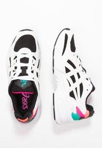 ASICS SportStyle - Sneakersy niskie - black/white - 3