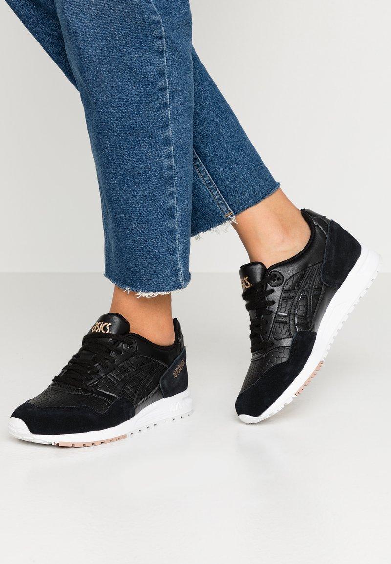 ASICS - GELSAGA - Sneakers laag - black