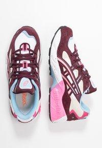 ASICS SportStyle - GEL-KAYANO 5 - Sneakers - white/deep mars - 3