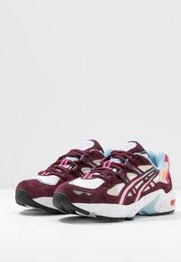 ASICS SportStyle - GEL-KAYANO 5 - Sneakers - white/deep mars - 4