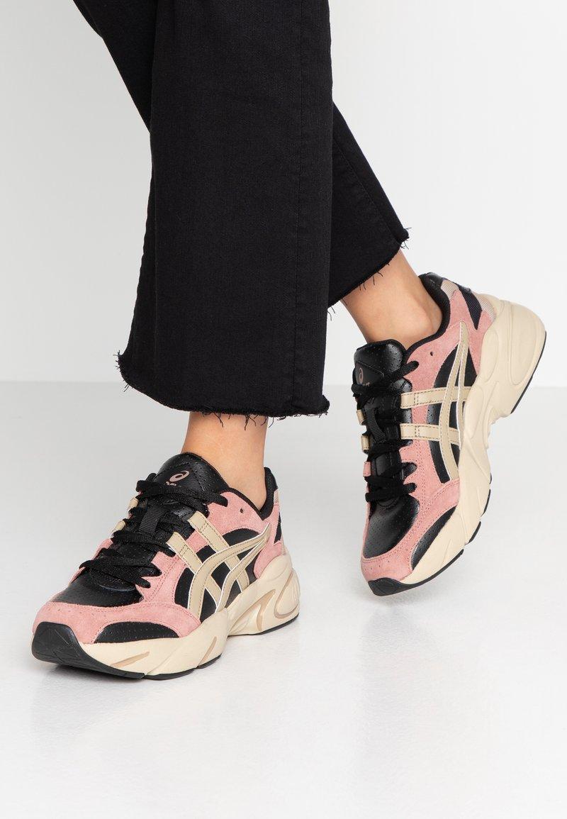 ASICS - GEL - Sneakers laag - black/wood