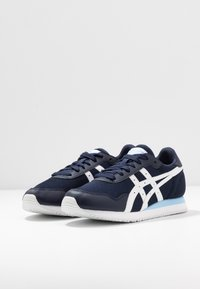 ASICS SportStyle - TIGER RUNNER - Trainers - midnight/white - 4