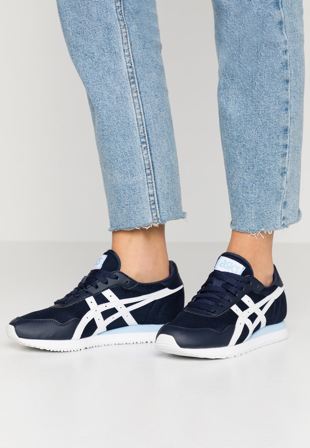 TIGER RUNNER - Trainers - midnight/white