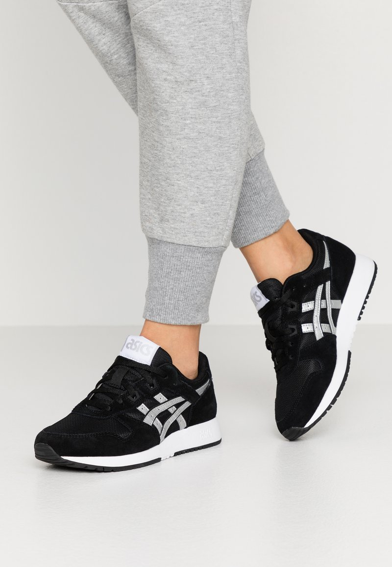 ASICS SportStyle - LYTE CLASSIC - Trainers - black/pure silver