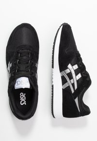 ASICS SportStyle - LYTE CLASSIC - Trainers - black/pure silver - 3