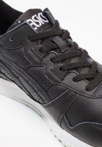 ASICS - GEL-LYTE - Sneakers laag - black - 5