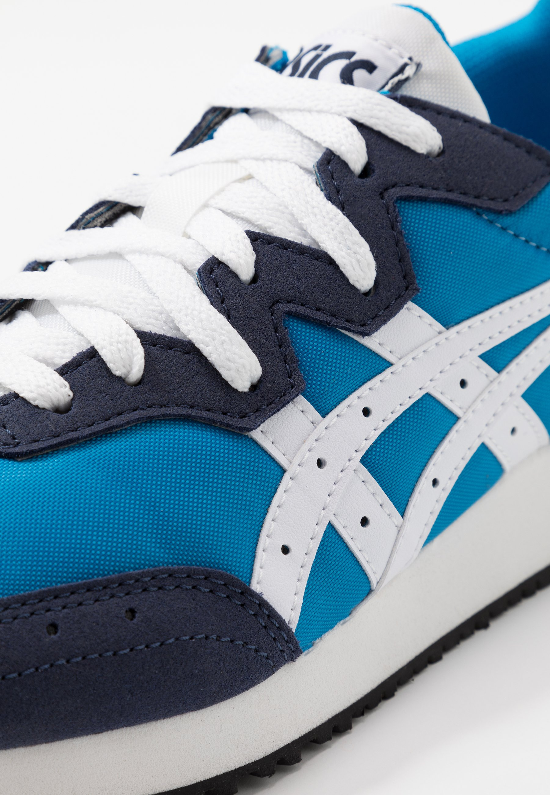 Asics Sportstyle Tarther - Sneakers Laag Directoire Blue/white Goedkope Schoenen
