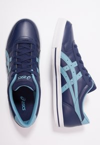 ASICS SportStyle - AARON - Trainers - peacoat/gris blue - 1