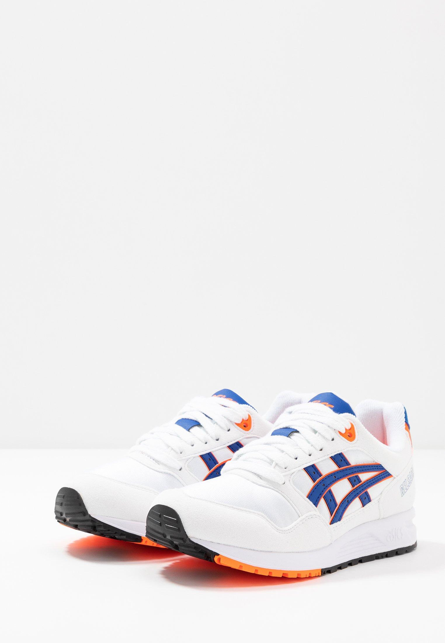 ASICS SportStyle GELSAGA - Sneaker low white/flash yellow