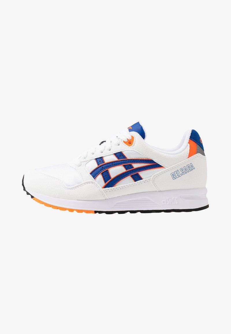 ASICS SportStyle - GELSAGA - Sneakers laag - white/flash yellow