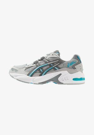 GEL KAYANO 5 OG - Sneakersy niskie - mid grey/steel grey