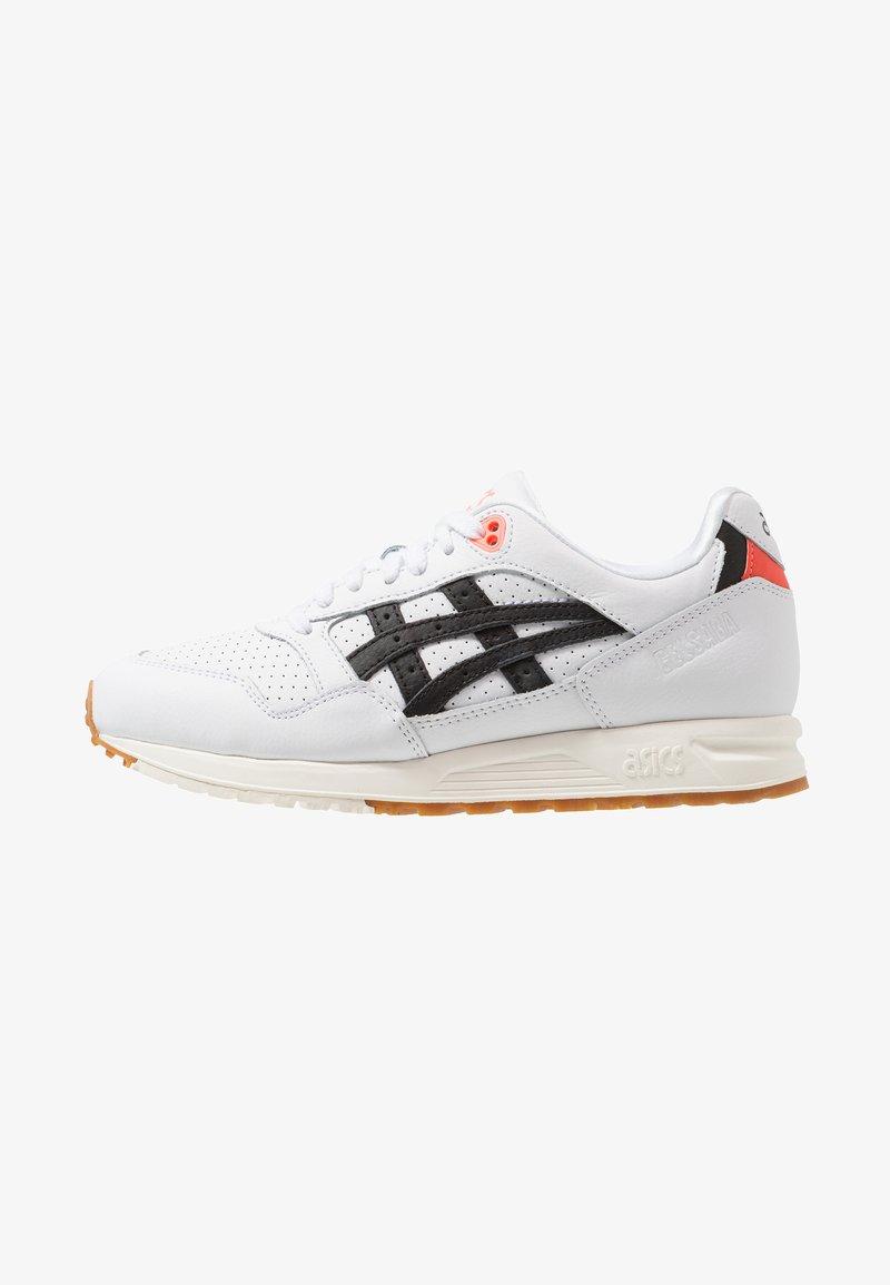 ASICS - GELSAGA - Sneakers laag - white/black
