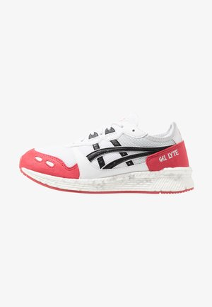 HYPERGEL-LYTE - Baskets basses - white/rouge