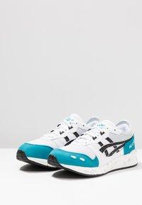 ASICS SportStyle - HYPERGEL-LYTE - Joggesko - white/teal blue - 2