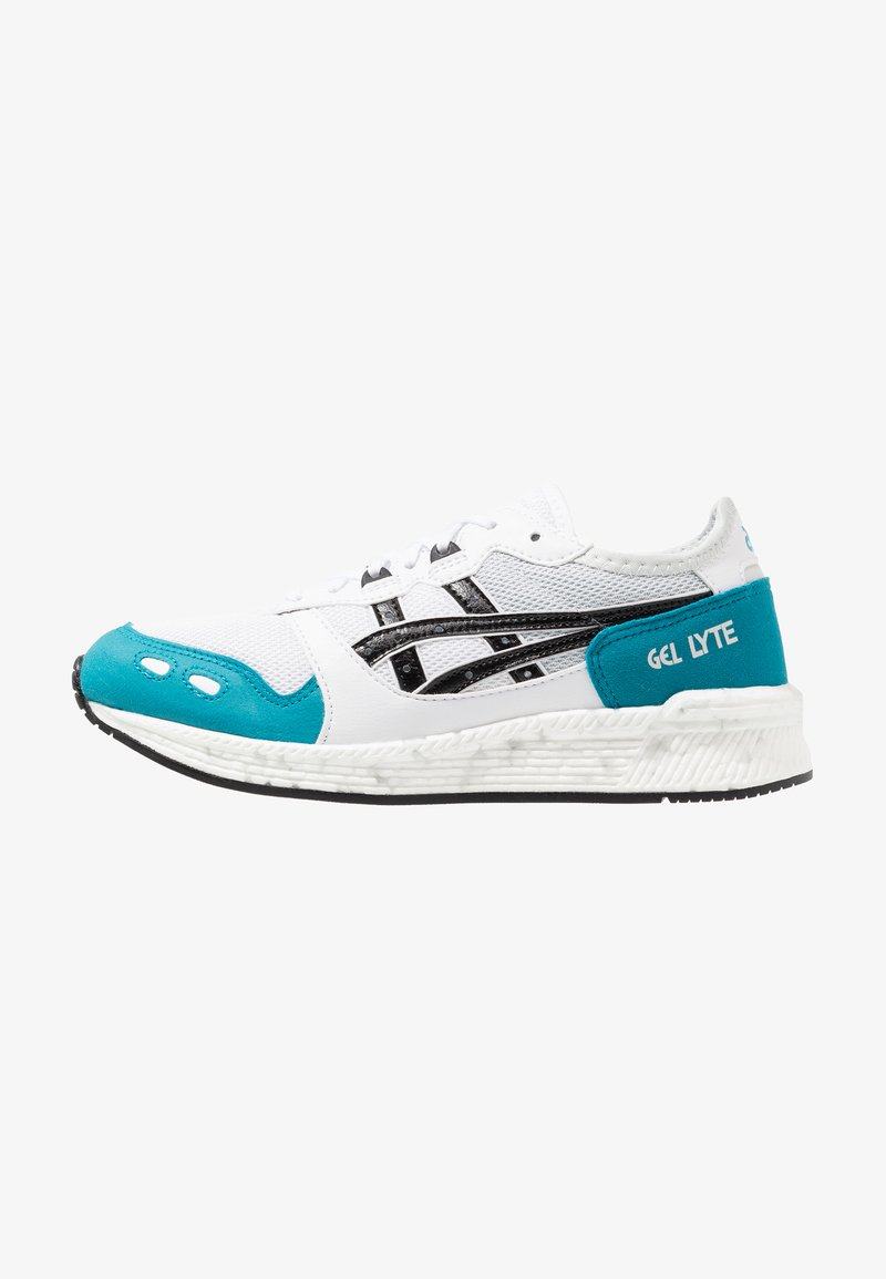 ASICS - HYPERGEL-LYTE - Baskets basses - white/teal blue