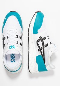 ASICS SportStyle - HYPERGEL-LYTE - Joggesko - white/teal blue - 1