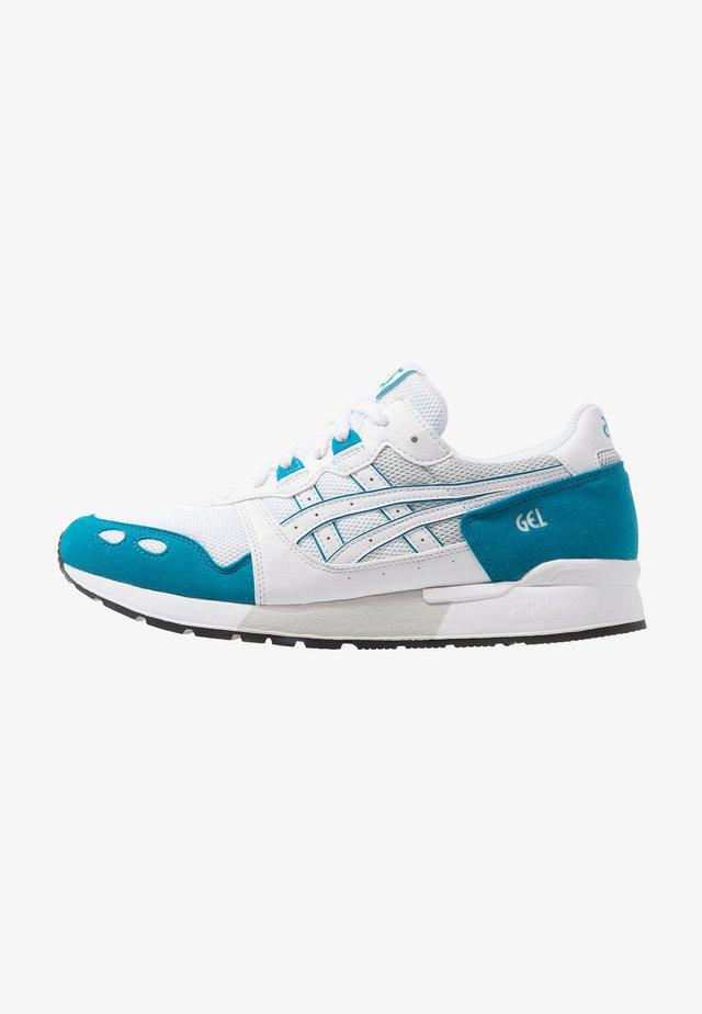 GEL-LYTE - Sneaker low - white/teal blue