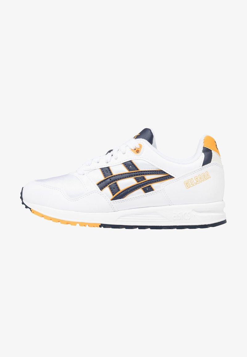 ASICS - GELSAGA - Sneakers laag - white/midnight