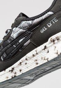 ASICS - HYPERGEL-LYTE - Stabilty running shoes - black - 5