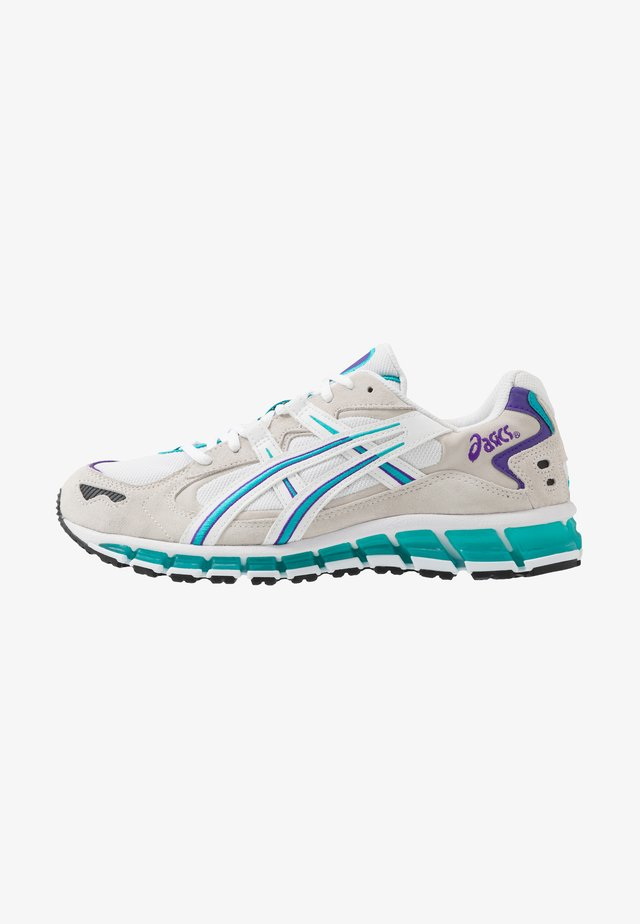 GEL-KAYANO 5 360 - Sneakersy niskie - white/lagoon